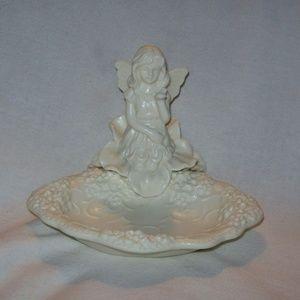 NIB - Angel Ceramic Ring Holder